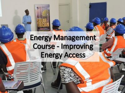 Energy Management Course – Improving Energy Access