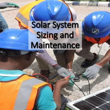 Solar System Sizing & Maintenance